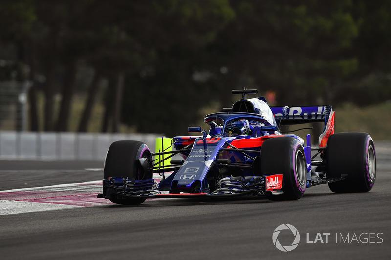 18. Брендон Хартлі, Scuderia Toro Rosso STR13 — 1