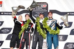Podio: Yvan Muller, YMR Hyundai i30 N TCR, Yann Ehrlacher, ALL-INKL.COM Münnich Motorsport Honda Civic Type R TCR, Pepe Oriola, Team Oscaro by Campos Racing Cupra TCR