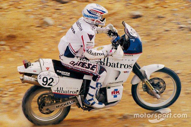 Edi Orioli, Cagiva, Honda y Yamaha, 4 Dakar