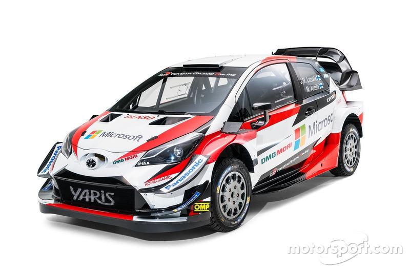 Toyota Yaris WRC 2018 года