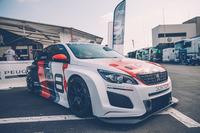 Peugeot 308 TCR nel paddock del Paul Ricard