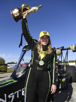 Top Fuel winner Brittany Force