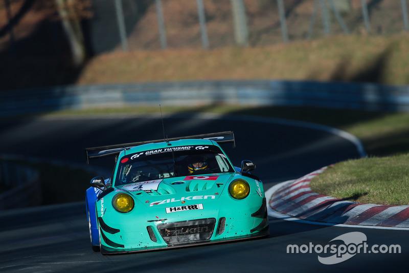 #4 Falken Motorsport Porsche GT3-R: Klaus Bachler, Martin Ragginger
