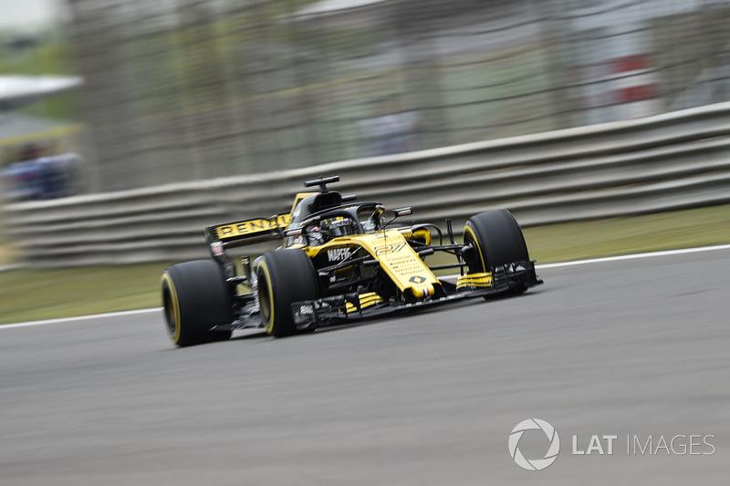 Nico Hulkenberg foi a grande surpresa do TL2, sendo o sexto melhor.