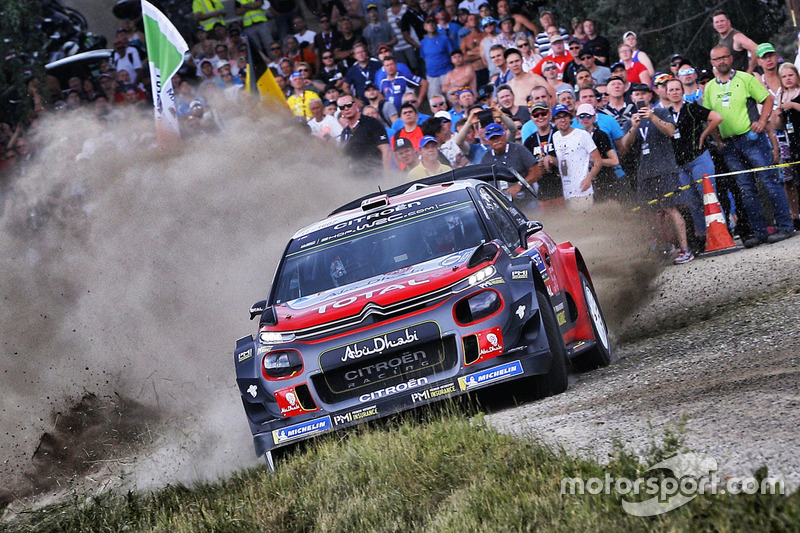 Мадс Остберг и Торстейн Эриксен, Citroën C3 WRC