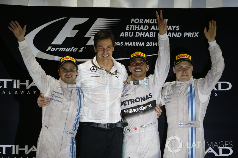Abu Dhabi GP 2014 Podyum