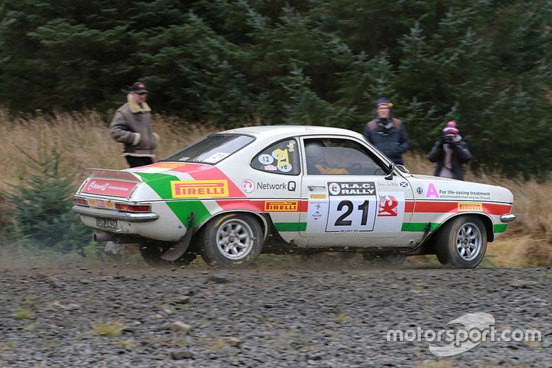 Jimmy McRae and Pauline Gullick, Vauxhall Firenza