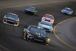 Kurt Busch, Stewart-Haas Racing, Ford Fusion Monster Energy / Haas Automation, B.J. McLeod, Rick Ware Racing, Kevin Harvick, Stewart-Haas Racing, Ford Fusion Busch Light, and Ryan Blaney, Team Penske, Ford Fusion DEX Imaging