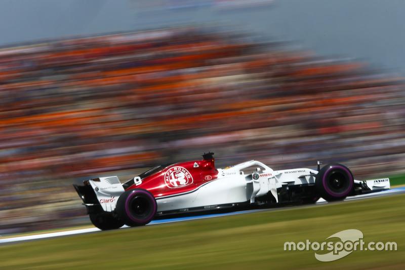 9e : Marcus Ericsson (Alfa Romeo Sauber)