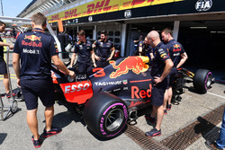 Mecánica de Red Bull Racing con Red Bull Racing RB14