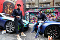 Ricciardo & Verstappen - Graffiti
