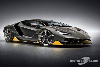 Présentation de la Lamborghini Centenario