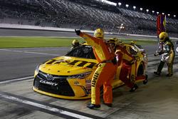 Pit stop Kyle Busch, Joe Gibbs Racing Toyota