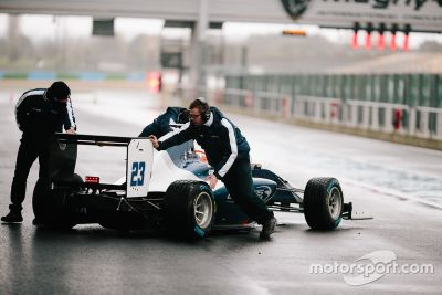 Shakedown in Magny-Cours