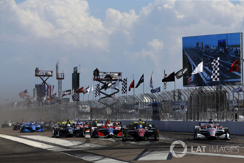 Robert Wickens, Schmidt Peterson Motorsports Honda, Will Power, Team Penske Chevrolet