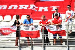 Fans of Robert Kubica, Williams