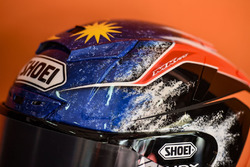 Adam Norrodin, SIC Racing Team helmet