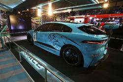 The Jaguar iPace eTrophy car