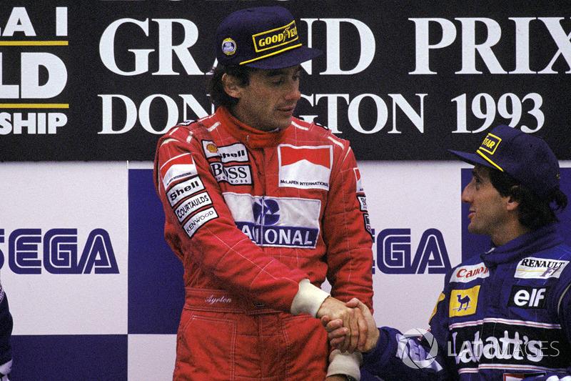 Ayrton Senna, McLaren, Alain Prost, Williams