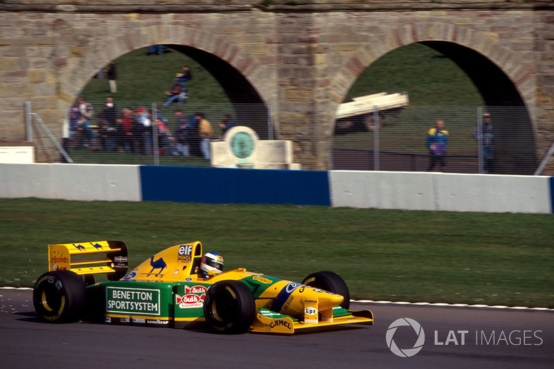 Michael Schumacher, Benetton Ford B193B
