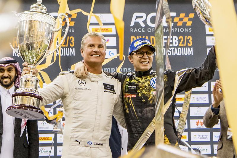 Carrera de Campeones ROC: David Coulthard