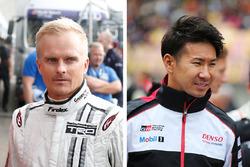 Heikki Kovalainen et Kamui Kobayashi