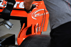 McLaren MCL32, dettaglio dell'ala posteriore