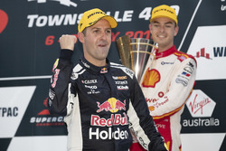 Podium: Race winner Jamie Whincup , Triple Eight Race Engineering Holden