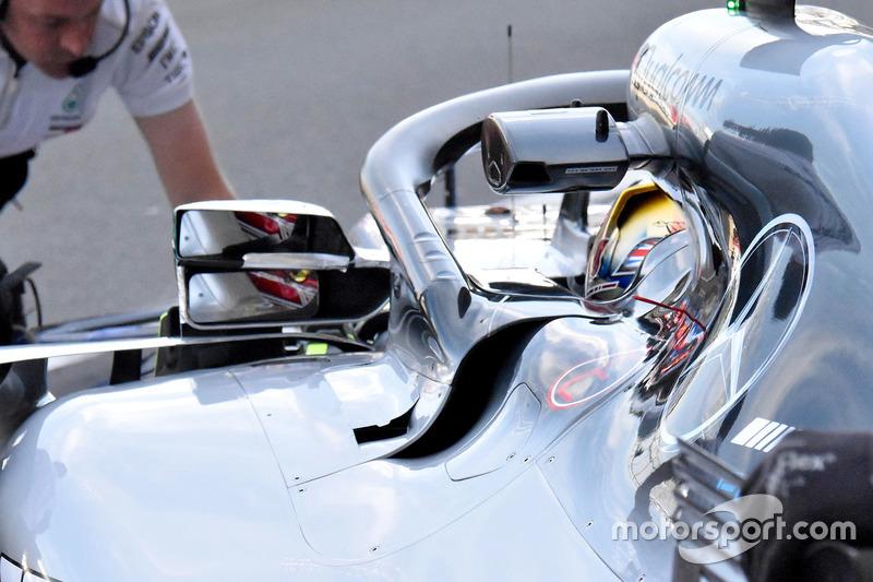 Lewis Hamilton, Mercedes AMG F1 W09 ayna