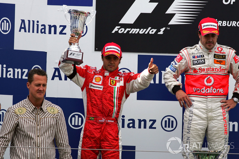 Europe, 2007 - Rivalry with Alonso