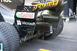 Renault Sport F1 Team RS17, diffusore