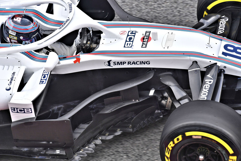 Monoplaces 2018 : Aéro, livrées... - Page 22 F1-barcelona-february-testing-2018-lance-stroll-williams-fw41
