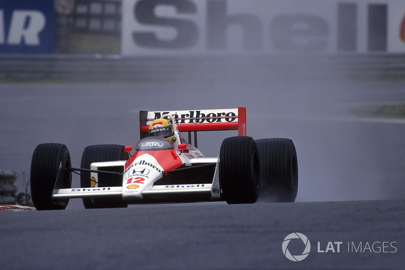 1988 Belçika: McLaren MP4/4