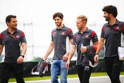 Ознакомление с трассой: Кевин Магнуссен, Haas F1 Team