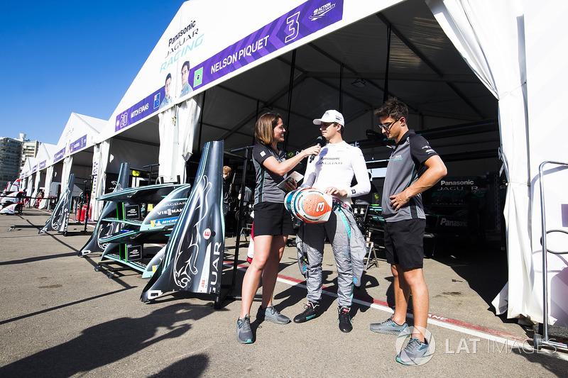 Nelson Piquet Jr., Jaguar Racing, Mitch Evans, Jaguar Racing