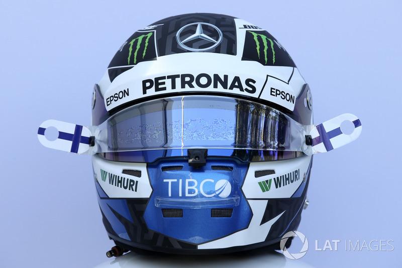 Casco de Valtteri Bottas, Mercedes-AMG F1