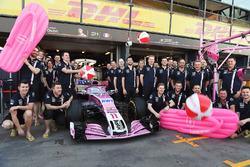 Force India announce Havaianas flip flops as a sponsor
