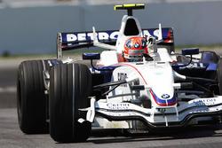 1. Robert Kubica, BMW Sauber F1.08