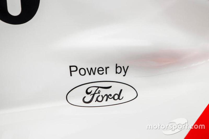 McLaren Cosworth Ford MP4/8A Айртона Сенны 1993 года
