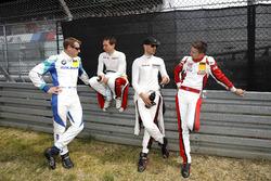 #33 Falken Motorsports BMW M6 GT3: Peter Dumbreck, #30 Frikadelli Racing Team Porsche 911 GT3R: Wolf Henzler, Matt Campbell, #12 Manthey Racing Porsche 911 GT3 R: Lars Kern