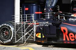 Sensores en el Red Bull Racing RB14