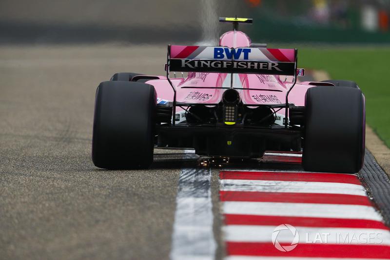 8 місце — Естебан Окон, Force India — 85