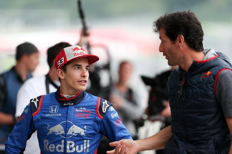 Marc Marquez - Toro Rosso F1
