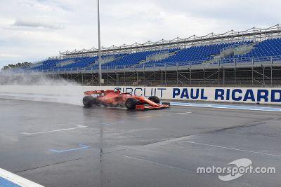 Testy Pirelli na Paul Ricard