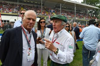 Jackie Stewart con Michel De Carvalho, ex deportista olímpico