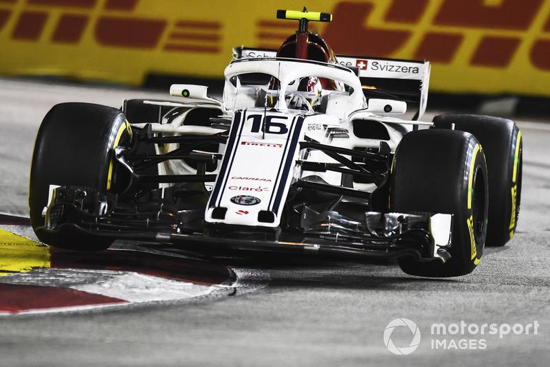 13: Charles Leclerc, Sauber C37, 1'38.747