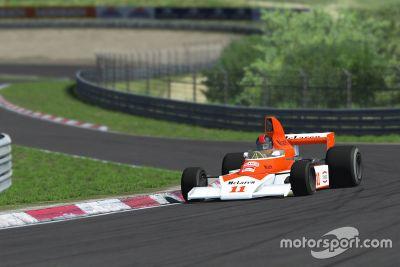 Coches clásicos McLarens en rFactor 2