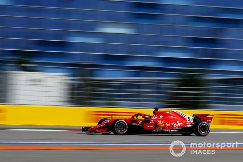5º Ferrari mejoró un 0.026% respecto al mejor tiempo entre 2017 y 2018