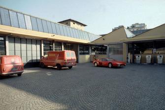 Modena 1989, Ferrari garage