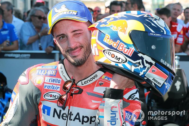 Друге місце Андреа Довіціозо, Ducati Team